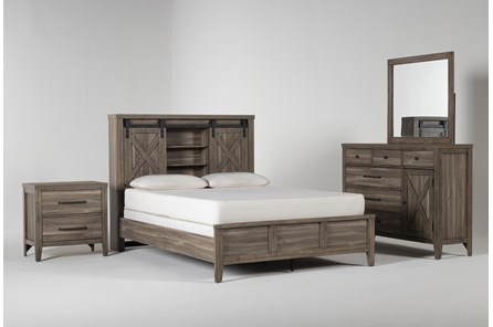 Haskell Queen 4 Piece Bedroom Set - Main