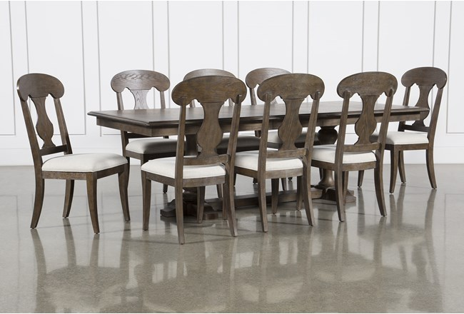 Chapman 9 Piece Extension Dining Set With Side Chairs - 360