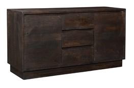 Dark Grey 2 Door 3 Drawer Sideboard
