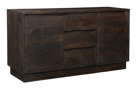 Dark Grey 2 Door 3 Drawer Sideboard