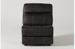 Denali II Charcoal Armless Recliner