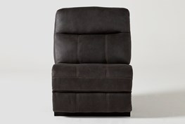 Denali II Charcoal Armless Chair