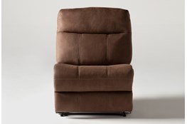 Denali II Brown Armless Recliner