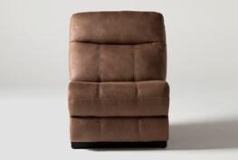 Denali II Brown Armless Chair