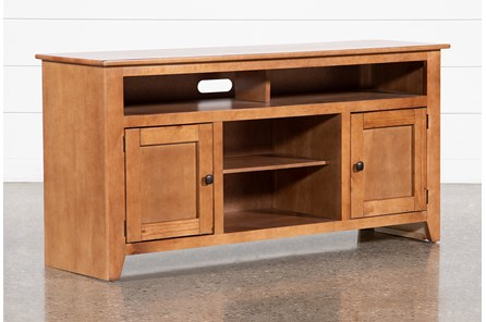 Coronado Medium Pine 58 Inch TV Stand