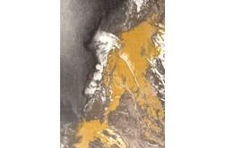 63X91 Rug-Galaxy Swirl Citronella