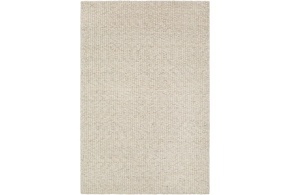 60X90 Rug-Willa Undyed Wool Cream