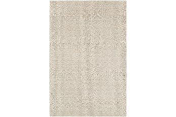 "5'x7'5"" Rug-Willa Undyed Wool Cream"