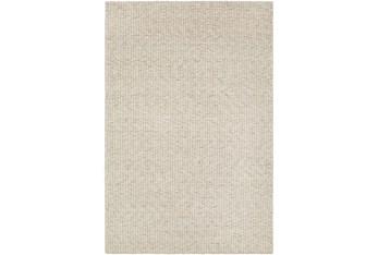 """5'x7'5"""" Rug-Willa Undyed Wool Cream"""