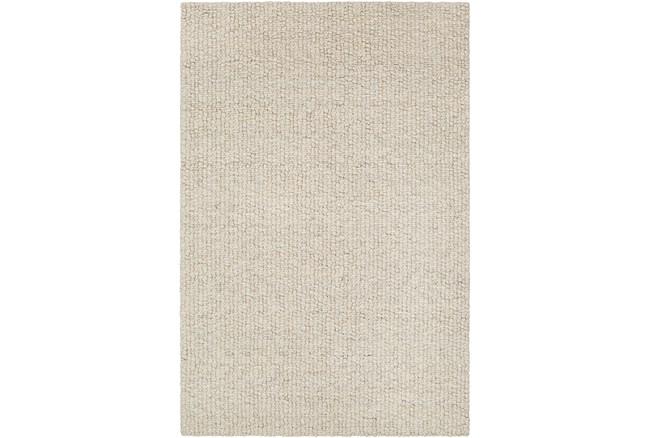"""5'x7'5"""" Rug-Willa Undyed Wool Cream - 360"""