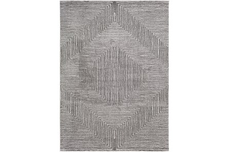 63X87 Rug-Exam Diamond Black