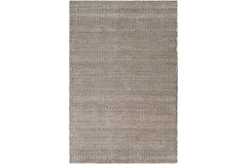 24X36 Rug-Cruz Stripe Charcoal/Beige