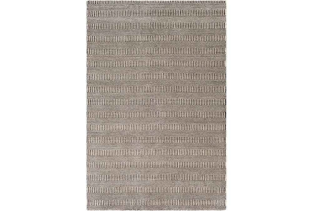 60X90 Rug-Cruz Stripe Charcoal/Beige