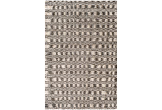 60X90 Rug-Cruz Stripe Charcoal/Beige - 360