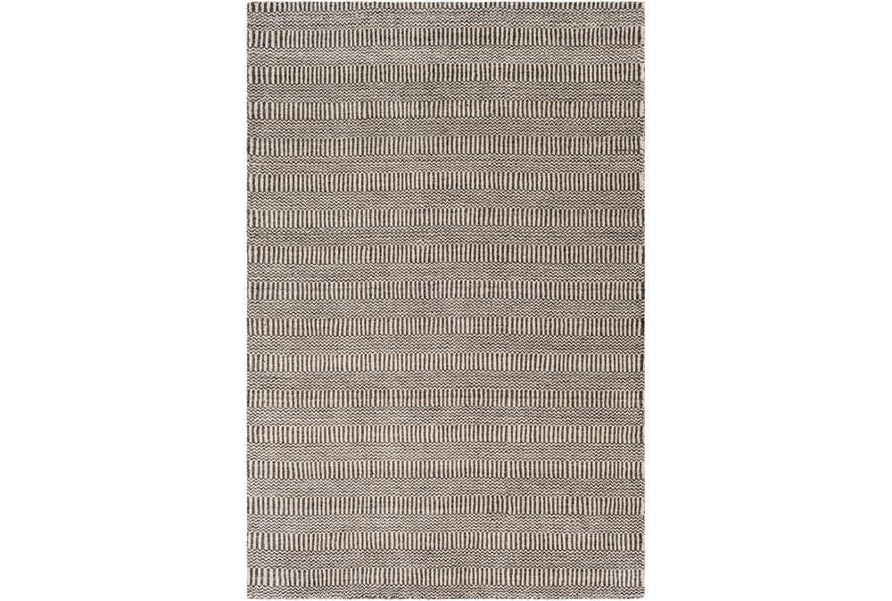 8'x10' Rug-Cruz Stripe Charcoal/Beige
