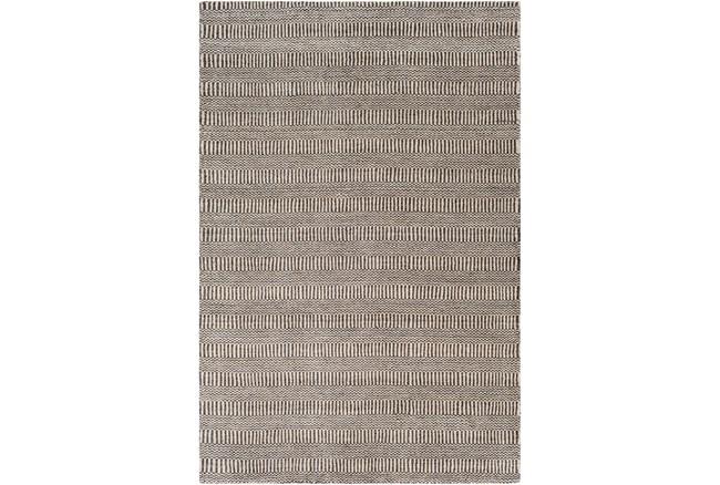 8'x10' Rug-Cruz Stripe Charcoal/Beige - 360