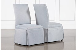 Garten Sky Skirted Dining Side Chairs Set Of 2
