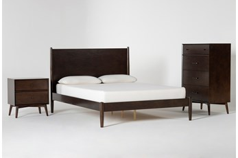 Alton Umber Full 3 Piece Bedroom Set