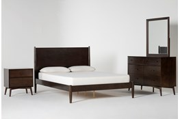 Alton Umber Full 4 Piece Bedroom Set