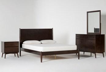 Alton Umber Full 4 Piece Bedroom Set