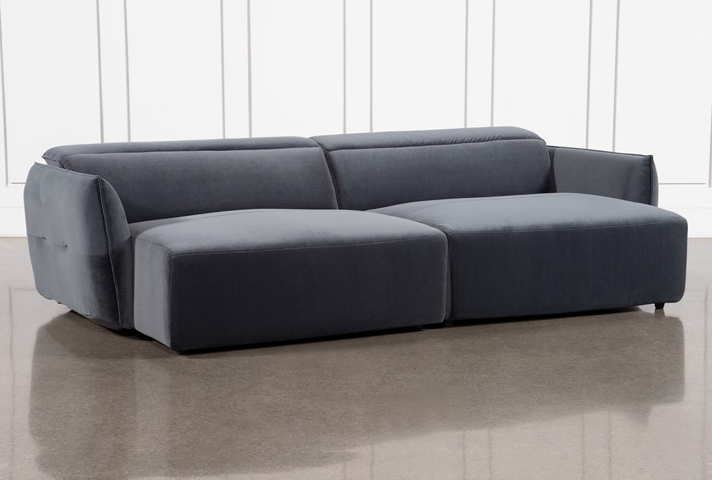 Layla Midnight Dual Chaise Sectional