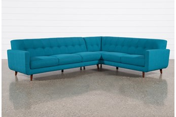 Allie Jade 2 Piece Sectional With Left Arm Facing Sofa