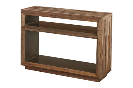 Reclaimed Plank Console