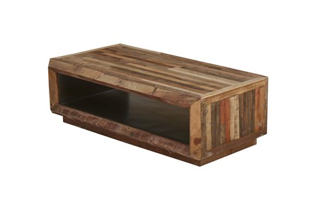 Reclaimed Plank Coffee Table