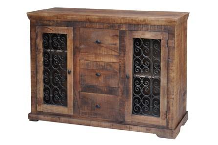 2 Door 3 Drawer Grate Cabinet