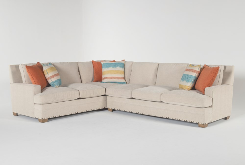 "Pamela II 2 Piece 130"" Sectional With Right Arm Facing Sofa"