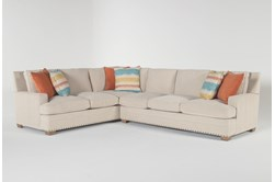 Pamela II 2 Piece Sectional With Right Arm Facing Sofa