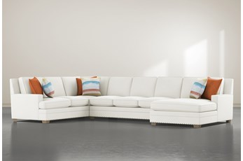 Pamela II 3 Piece Sectional With Right Arm Facing Chaise