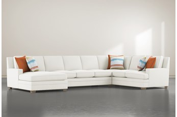 Pamela II 3 Piece Sectional With Left Arm Facing Chaise