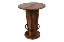 Reclaimed Wood Cone Bar Table
