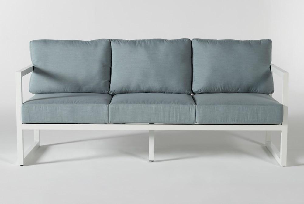"""Wilshire Aqua 77"""" Outdoor Sofa"""