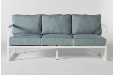 Wilshire Aqua Outdoor Sofa - Main
