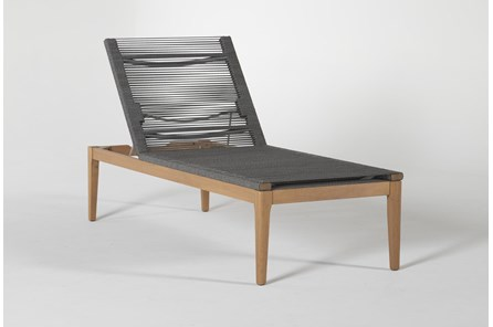Hyde Outdoor Chaise Lounge - Main