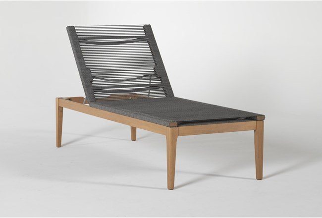 Hyde Outdoor Chaise Lounge - 360