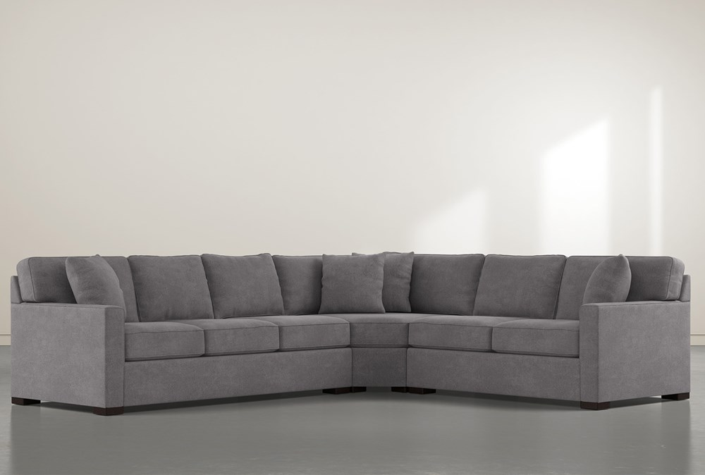 "Alder Down 3 Piece 125"" Sectional With Left Arm Facing Sofa"
