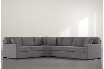 """Alder Down 3 Piece 125"""" Sectional With Right Arm Facing Sofa"""