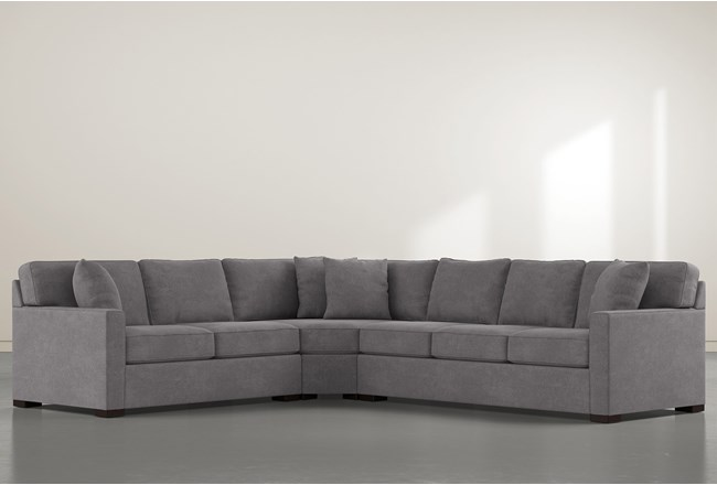 "Alder Down 3 Piece 125"" Sectional With Right Arm Facing Sofa - 360"