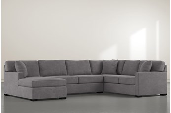 "Alder Down 3 Piece 136"" Sectional With Left Arm Facing Chaise"