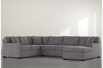 Alder Down 3 Piece Sectional With Right Arm Facing Chaise