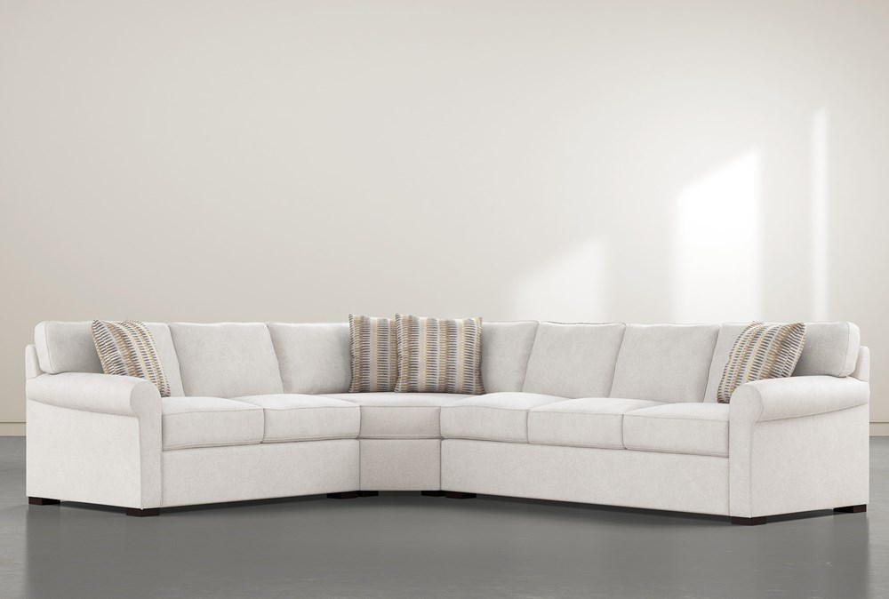 Elm II Down 3 Piece Sectional With Right Arm Facing Sofa