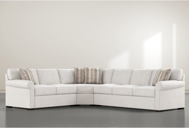 Elm II Down 3 Piece Sectional With Right Arm Facing Sofa - 360