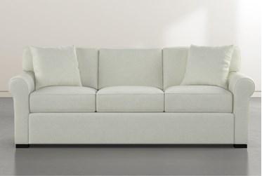 """Elm II Green Down 87"""" Sofa"""