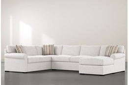 Elm II Down 3 Piece Sectional With Right Arm Facing Chaise