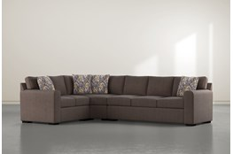 "Cypress II Down 3 Piece 124"" Sectional With Right Arm Facing Sofa"