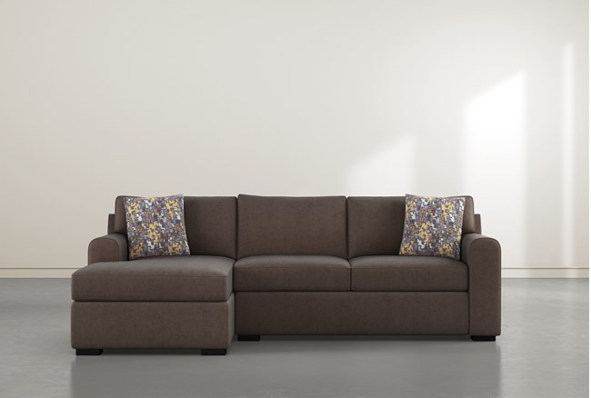 """Cypress II Down 2 Piece 105"""" Sectional With Left Arm Facing Chaise - 360"""