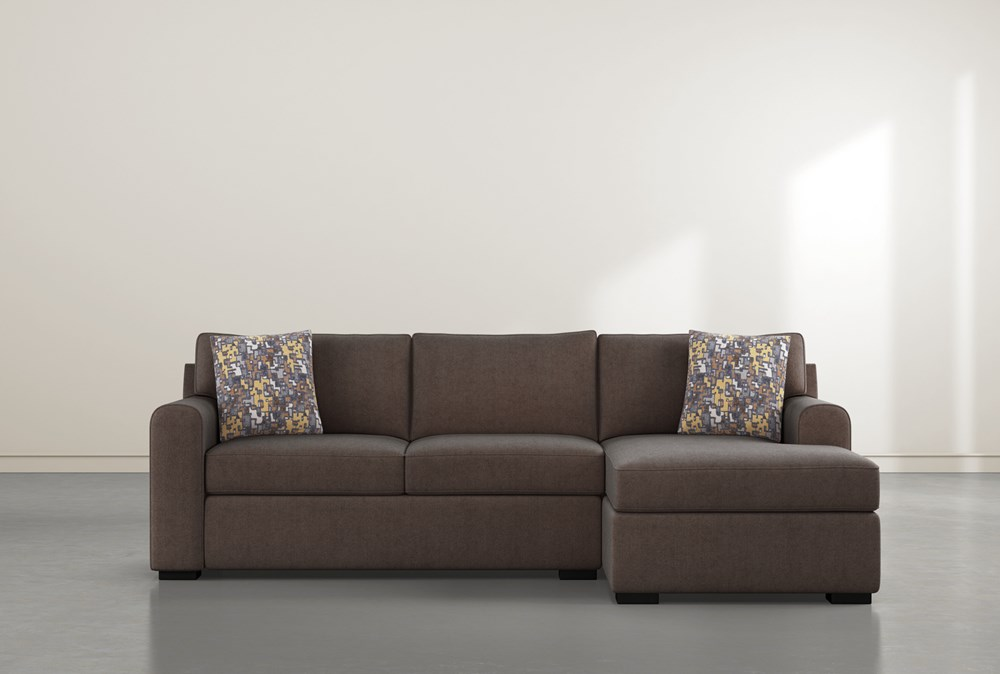 """Cypress II Down 2 Piece 105"""" Sectional With Right Arm Facing Chaise"""